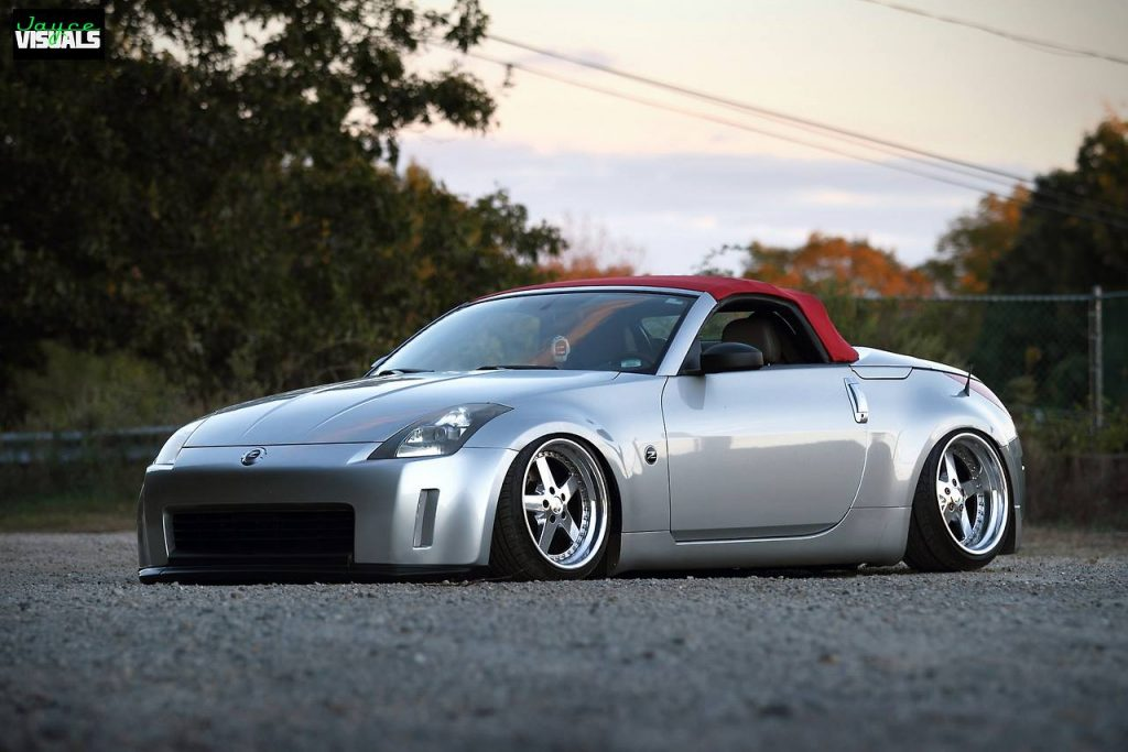 nissan 350z roadster tuning gris