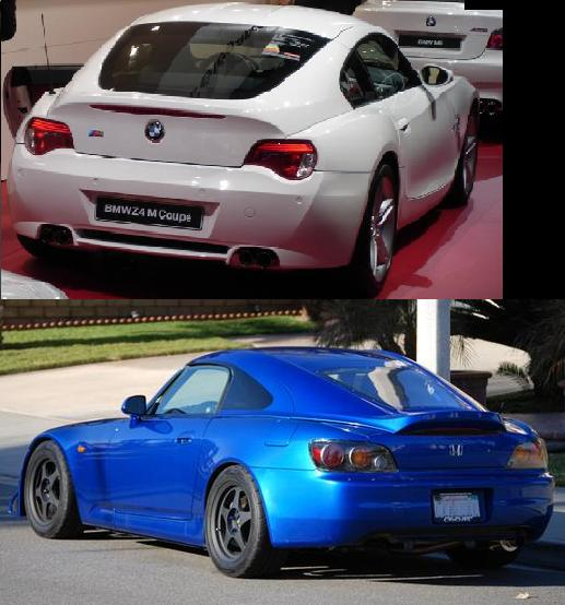 bmw z4 vs honda s2000