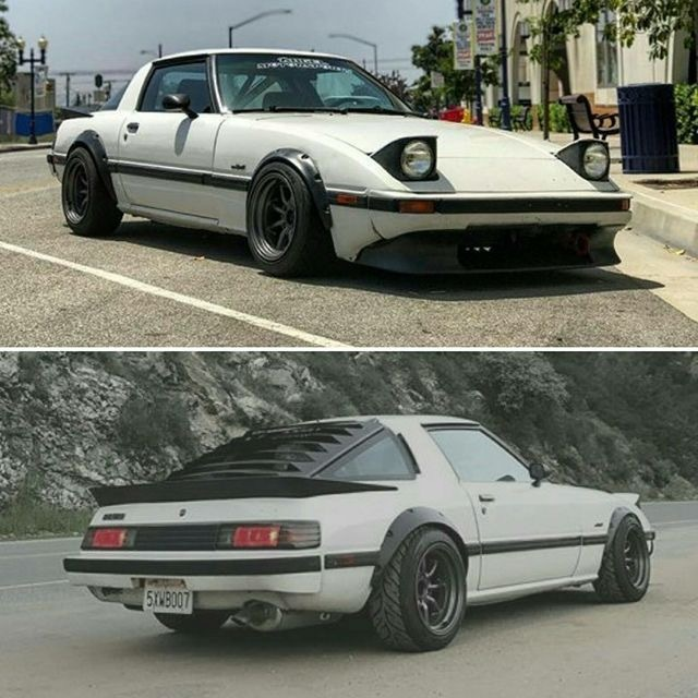 mazda rx7 fb tuning turbo