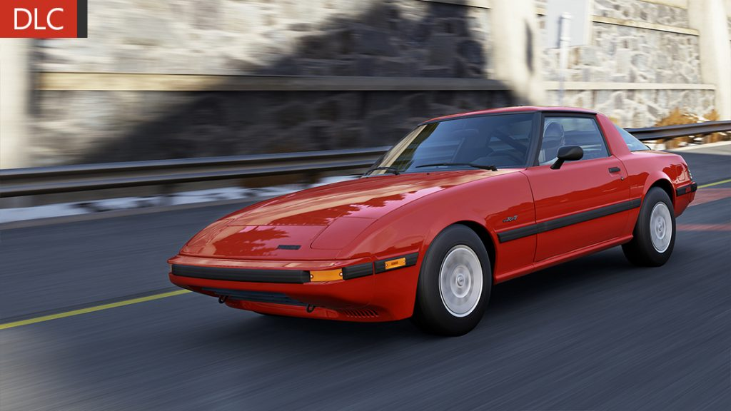 mazda rx7 fb color  rojo