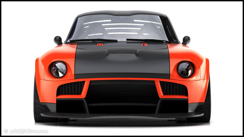 nissan 240z concept tunng