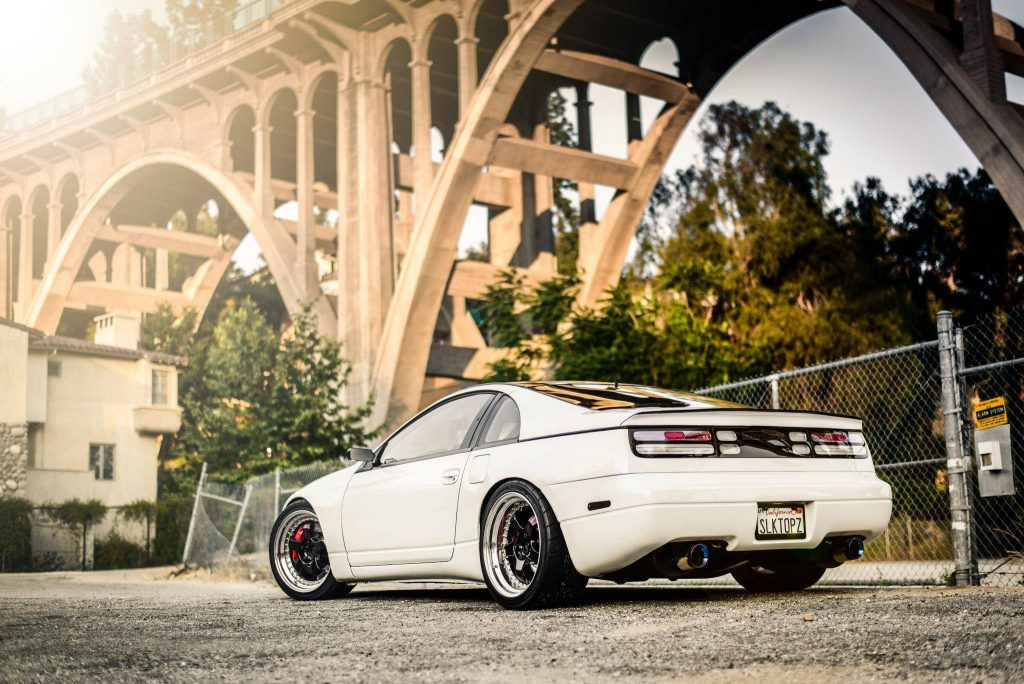 nissan 300zx z32 color blanco tuning