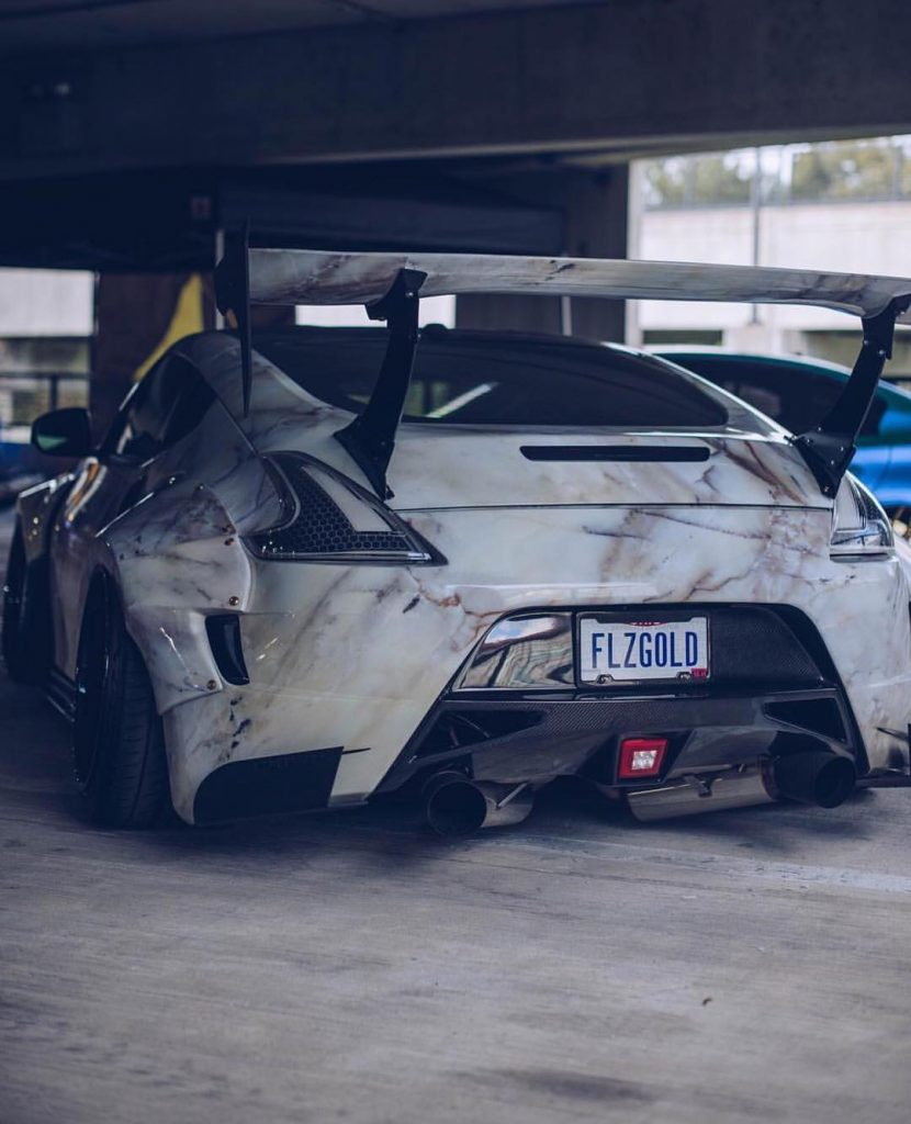 nissan 370z parte posterior tuning