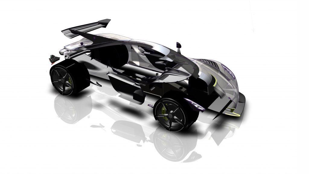Koenigsegg Jesko aerodinamica