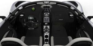 Koenigsegg Jesko inteior