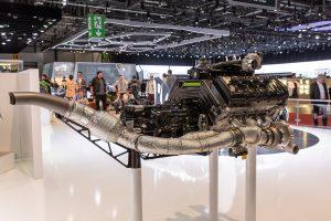 motor Koenigsegg Jesko