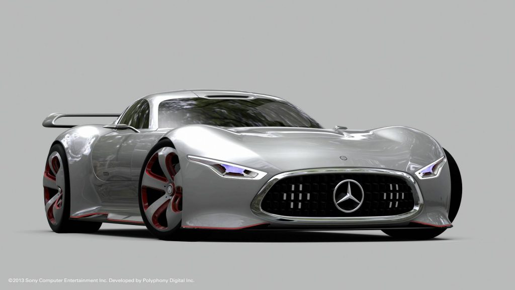 forza mercedes benz amg vision gt