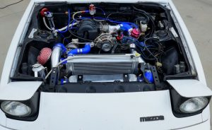 motor mazda rx7 fb 13b sa