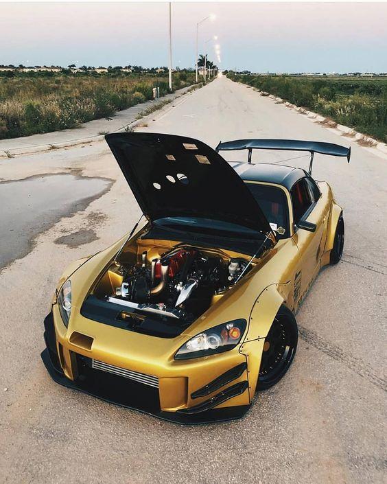 honda s2000 dorado oro