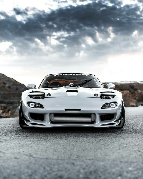 mazda rx7 fd3s frontal