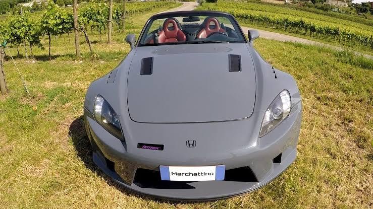 honda s2000 roadster frontal capot