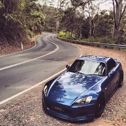 honda s2000 azul