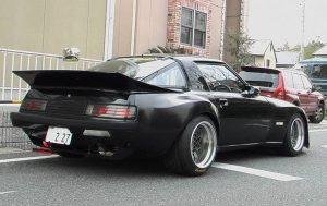 mazda rx7 fb negro