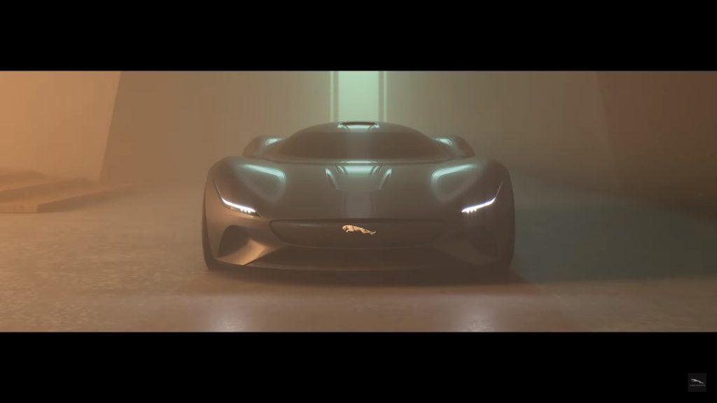 frontal jaguar gran vision coupe