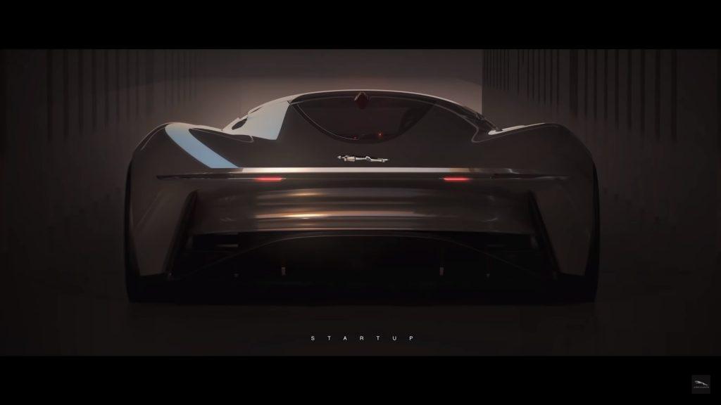 posterior jaguar gran vision coupe