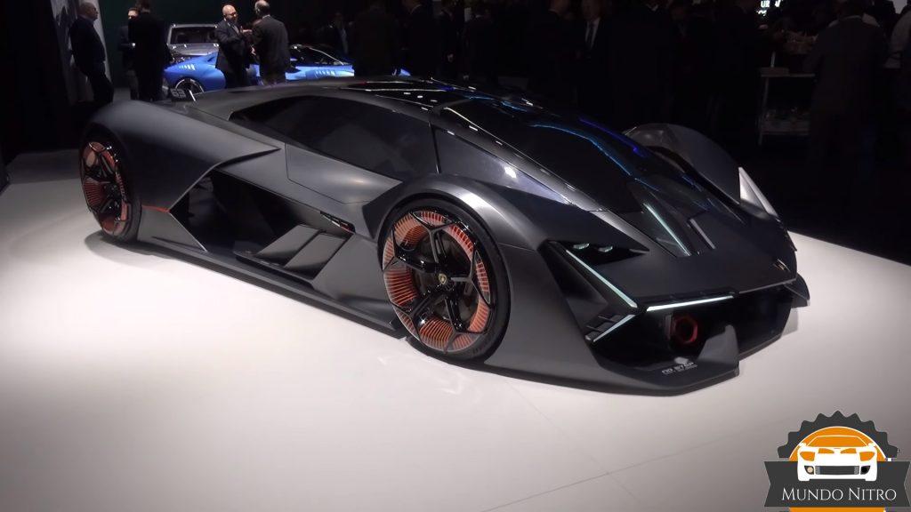 ficha tecnica Lamborghini terzo millennio