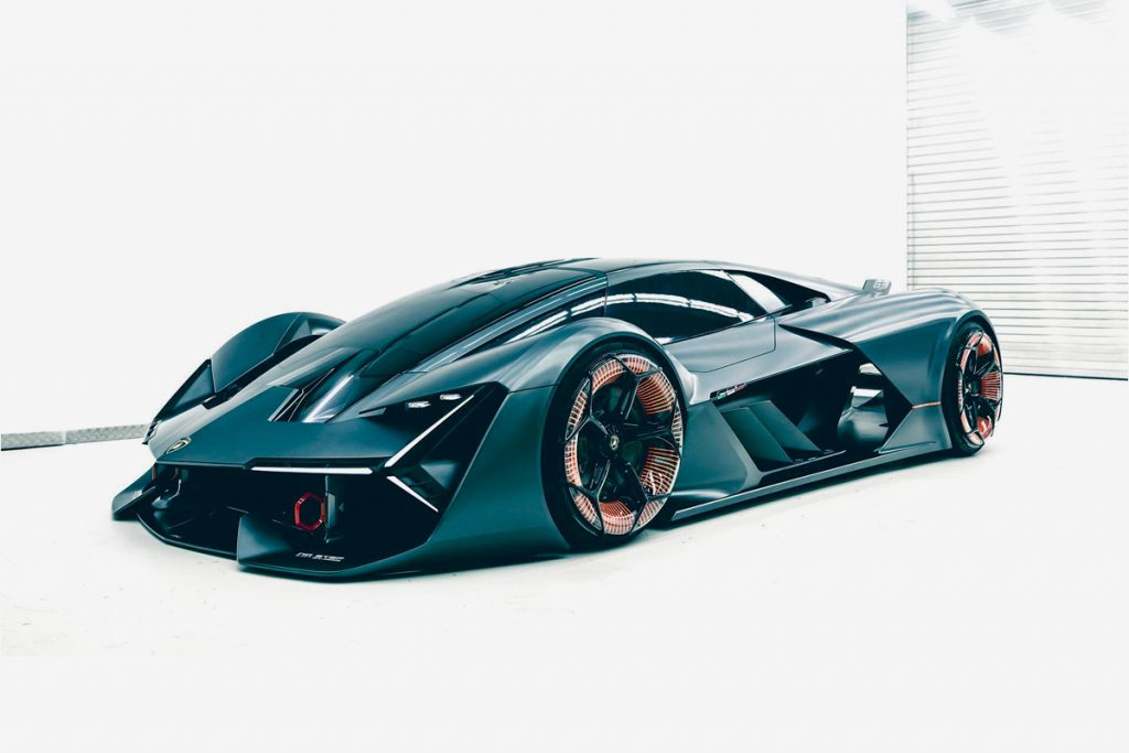 velocidad Lamborghini terzo millennio