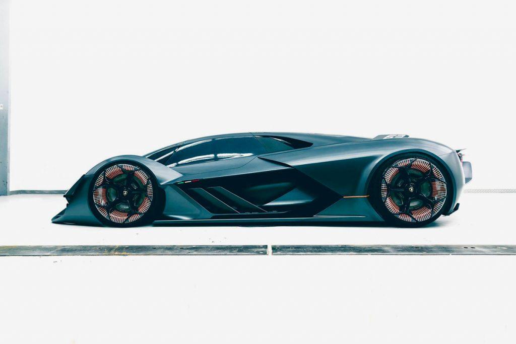 lateral Lamborghini terzo millennio