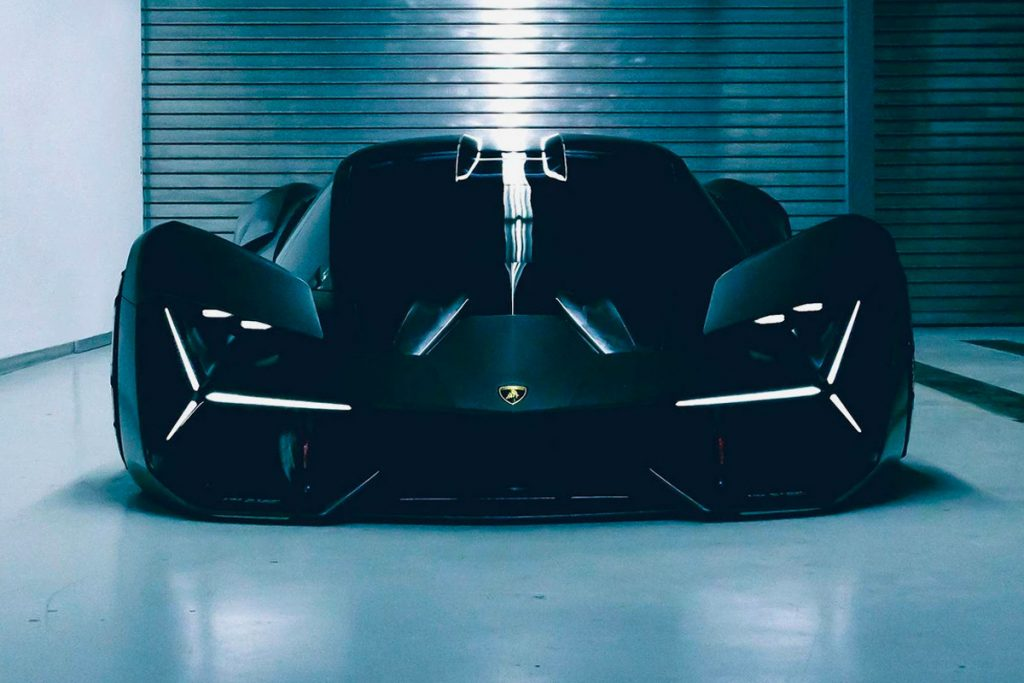 asphalt Lamborghini terzo millennio