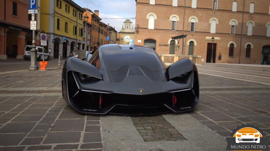Lamborghini terzo millennio batman