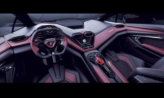 interior Lamborghini terzo millennio