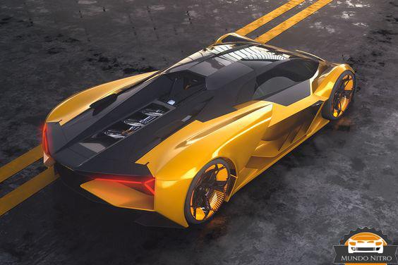 Lamborghini terzo millennio oro