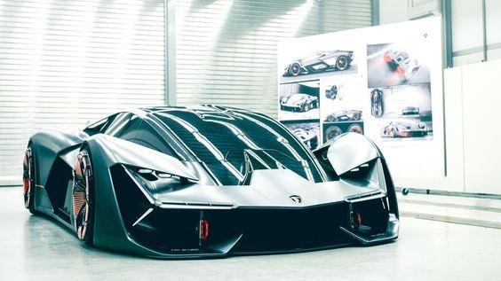 Lamborghini terzo millennio frontal