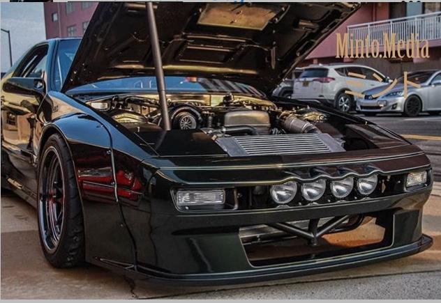 mazda rx7 fc motor color negro