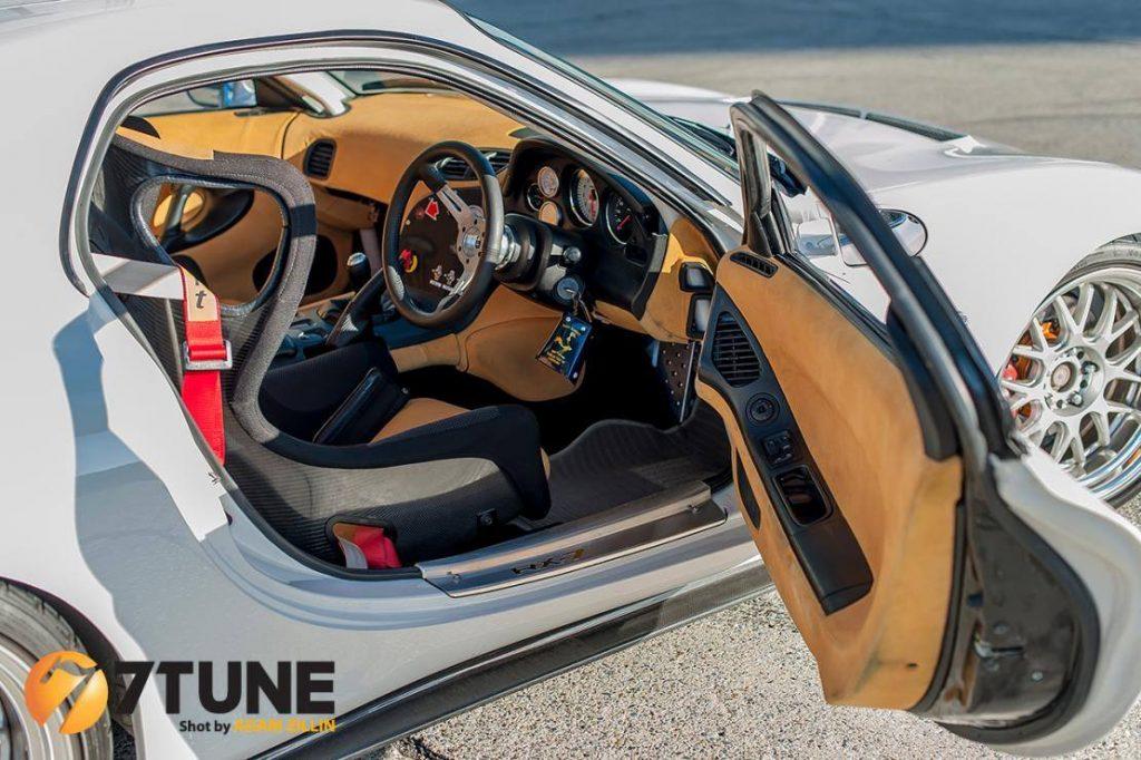 ficha tecnica mazda rx7 fd3s tuning interior