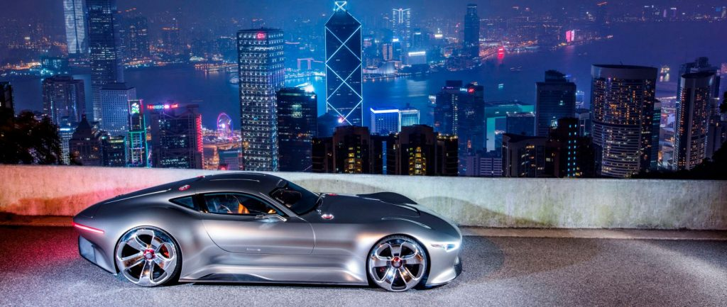 prototype mercedes benz amg vision gt