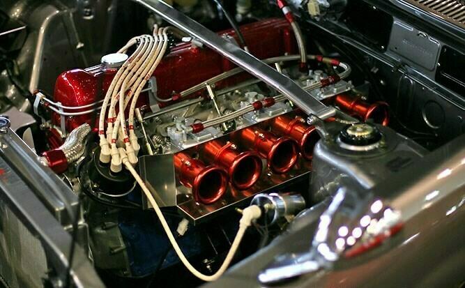 motor rojo l 28 nissan 280zx