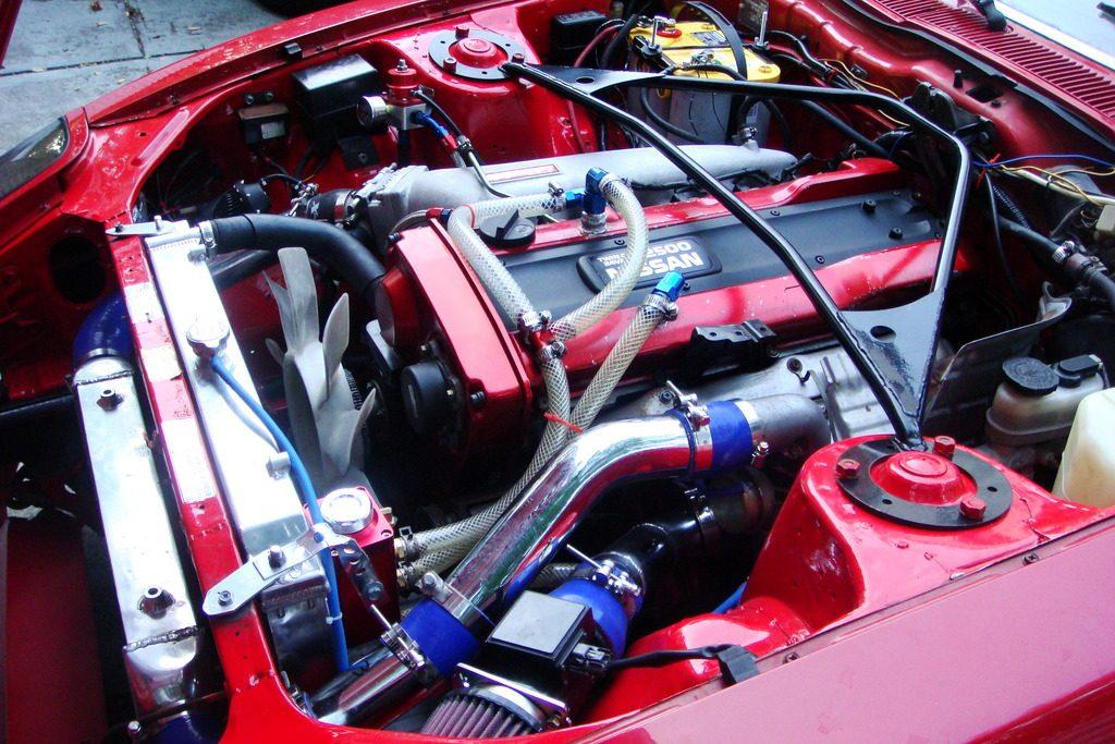 motor para nissan 240z