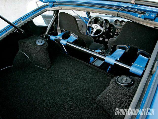 nissan 240z  interior