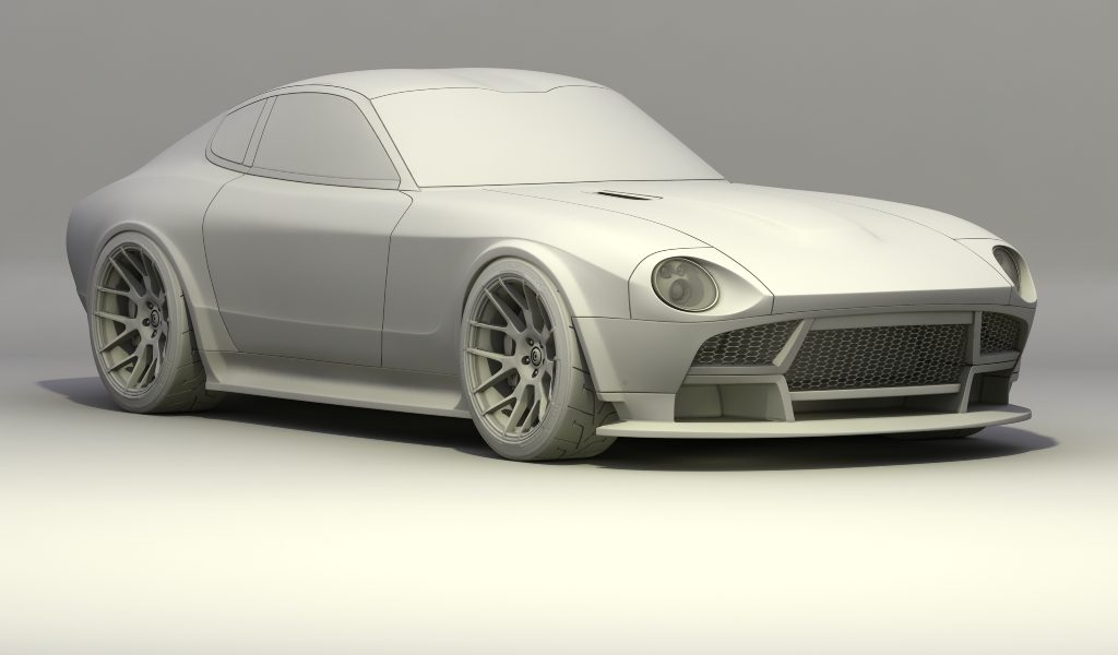 nissan 240z frontal concept