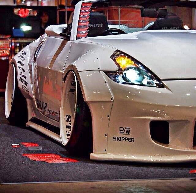 nissan 370z roadster tuning