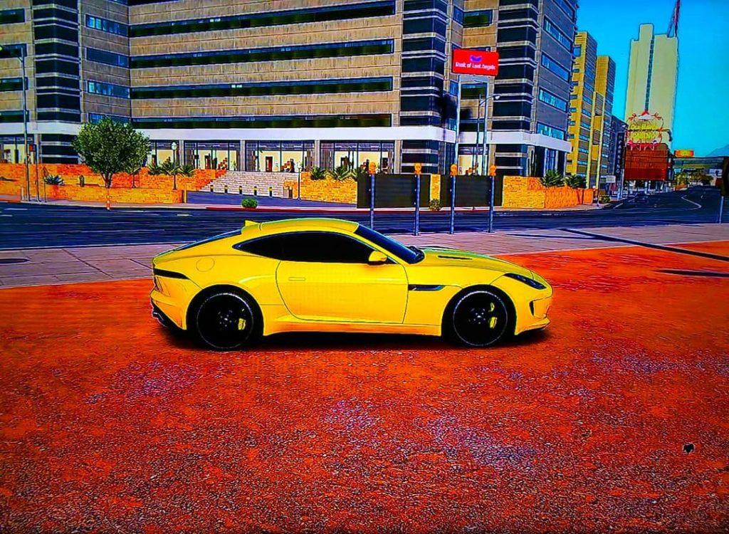 jaguar f type r tuning amarillo