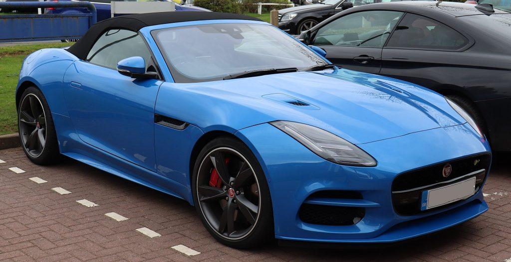 jaguar f type r cuope roadster