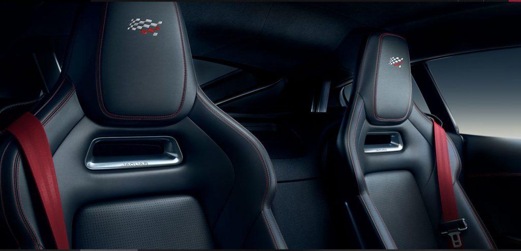 asientos jaguar f type r