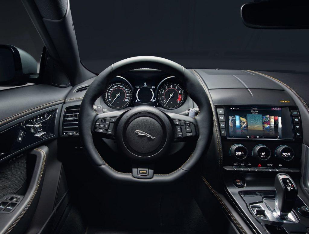 interior jaguar f type r