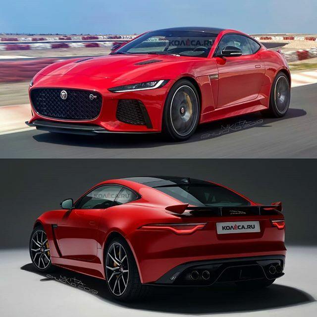 jaguar f type svrcoupe