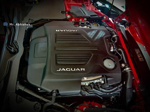 motor jaguar f type r svr
