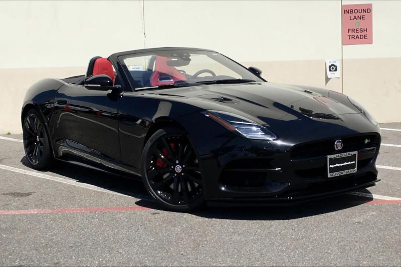 jaguar f type svr roadster