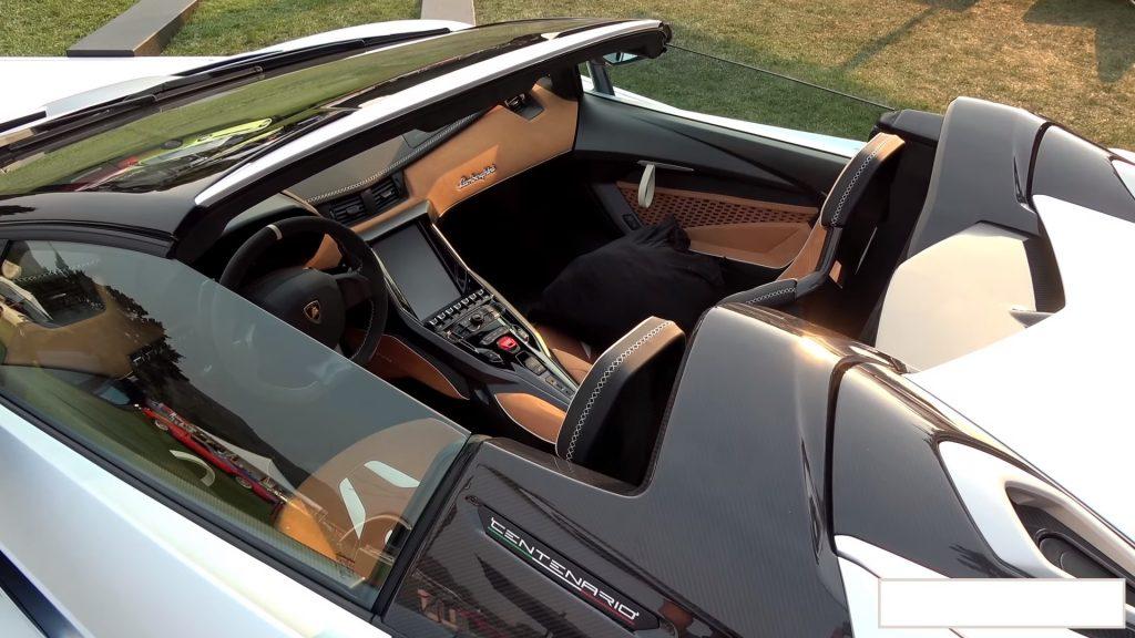lamborghini centenario roadster a vendre consumo