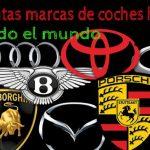 ¿Cuántas marcas de coches hay y cuáles son?