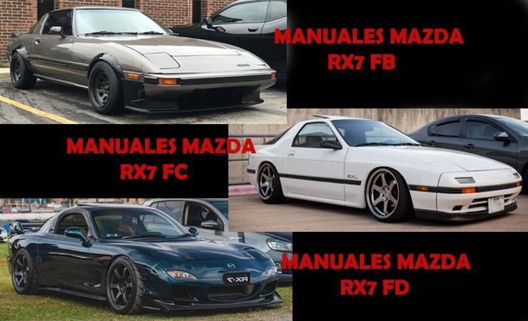 Manuales y diagramas Mazda Rx7 FB - FC - FD